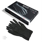 BLACK TOUCH LATEX GLOVES 10'S