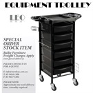 "EQUIPMENT TROLLEY ""LEO"" 6 DRAWER"