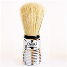OMEGA SHAVE BRUSH 80 SILVER MEDIUM