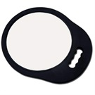 "BACK MIRROR ROUND ""RUBBER FRAME"""