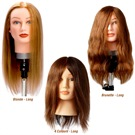MANNEQUIN HEAD HUMAN HAIR LONG