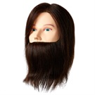 MANNEQUIN HEAD HUMAN MALE w/BEARD