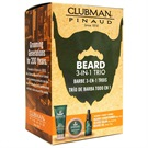 PINAUD <b>CLUBMAN</b> BEARD 3-IN-1 TRIO