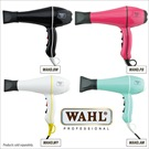 WAHL HAIR DRYER &quot;SUPER-DRY&quot; BLACK<br/>(w/WHITE STRIPE)